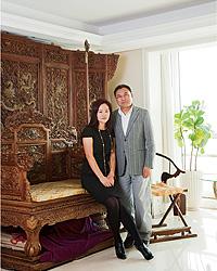 李国昌さんと奥様のクリスティさん
