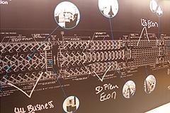 機内の設計図
