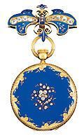 ヴィクトリア女王に献上されたポケットウォッチ