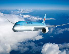 優雅なフライトを約束する大韓航空のプレステージクラス
