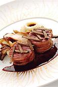 シャラン産鴨のフィレ肉のロースト、フレッシュサマートリュフとともに