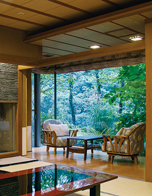 谷川岳の大自然に抱かれる別邸 仙寿庵