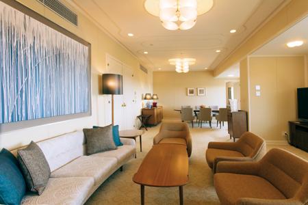 サミット時、米国大統領が宿泊したザ クラシックのロイヤルスイートルーム