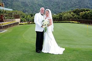 デービッド B. ビルズさん ジュン西岡さんご夫妻
