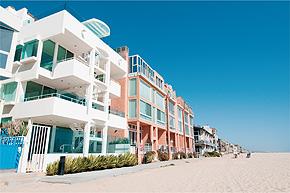 ジフキンご夫妻が暮らすビーチハウス