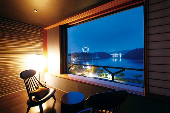 全室レイクビューのデザイナーズ旅館 名湯・舘山寺温泉にオープン