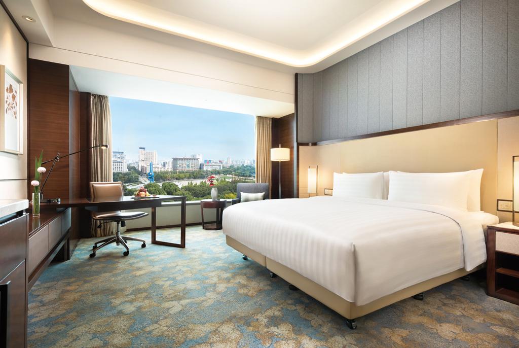 伝統的な要素と現代的な中国建築の融合 シャングリ・ラ ホテル 済南 オープン