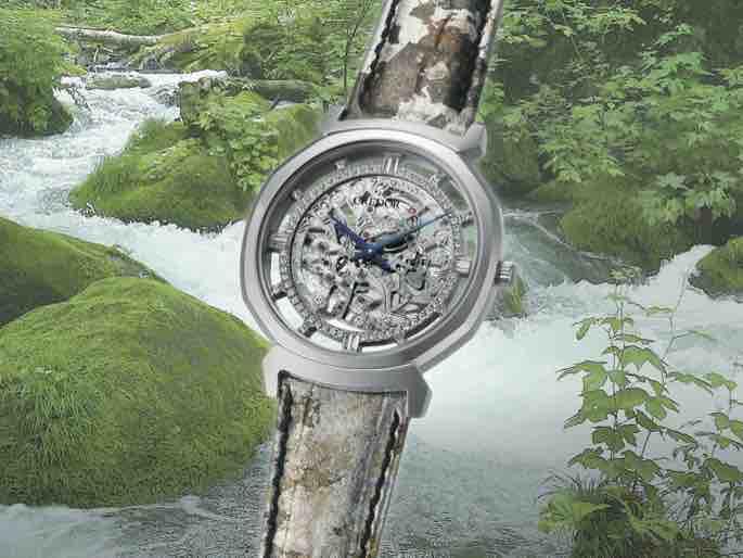 日本の美しい自然をテーマに 伝統の技を取り入れた限定モデル