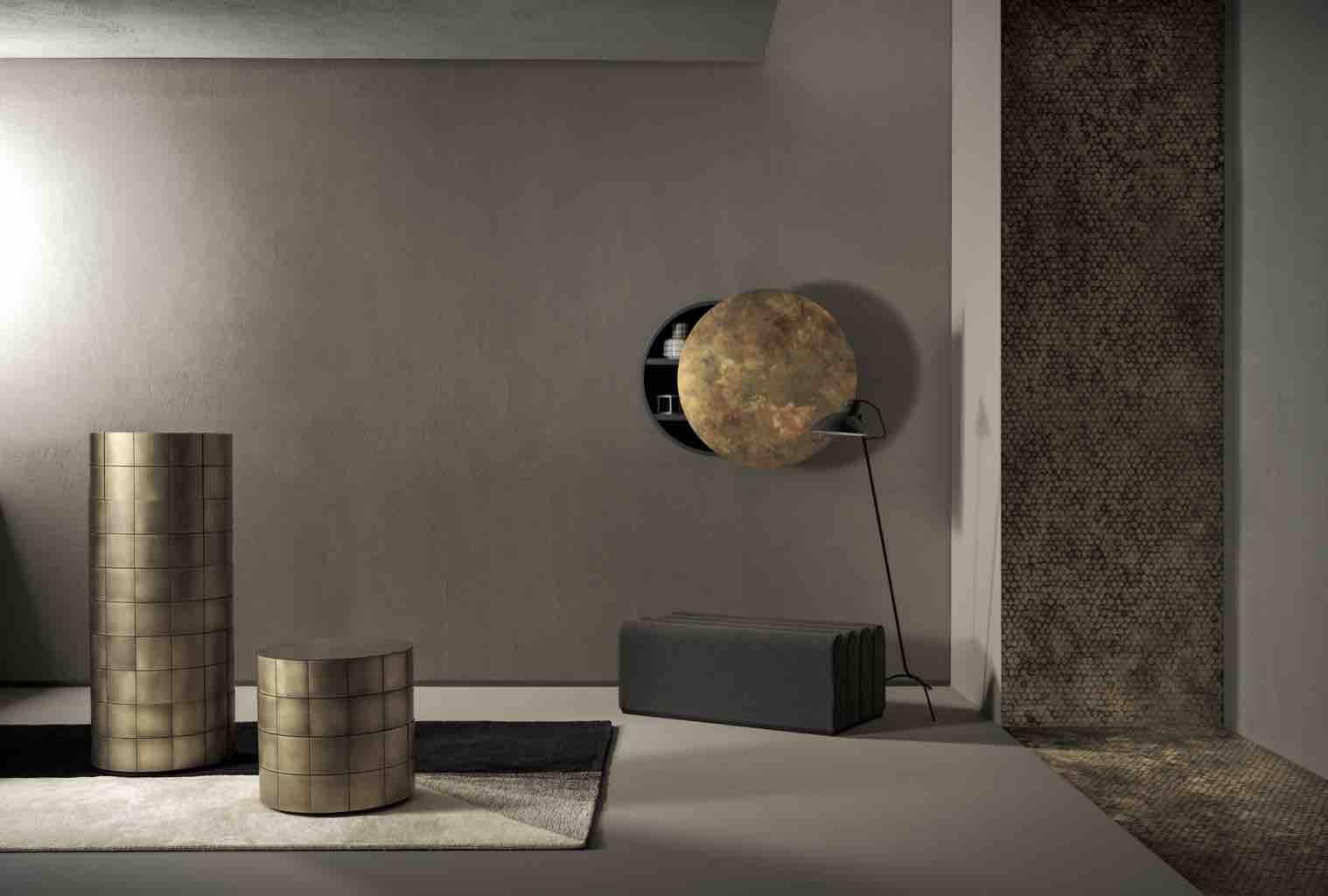 金属の美しさを最大限に活かしたイタリアのラグジュアリー家具