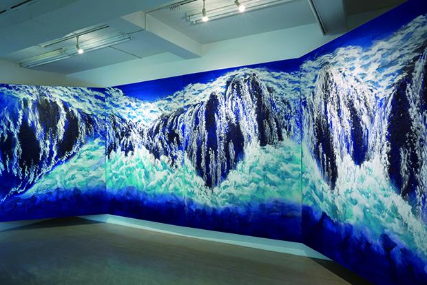 間島秀徳の現代日本画作品と大倉コレクション名品たちの Fusion